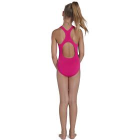 speedo Digital Allover Medalist Swimsuit Girls, Multicolor/rosa